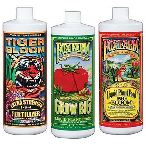 Fox Farm FX14049 Liquid Nutrient Trio Soil Formula