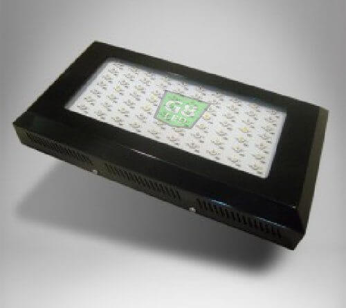 G8LED 240 Watt LED Grow Light with Optimal 8-Band plus Infrared and Ultraviolet for up to three plants