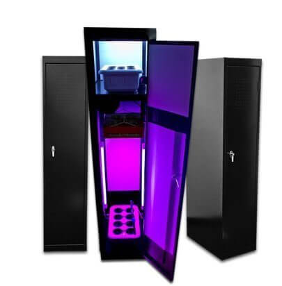 Grow Box LED SuperLocker 3.0 LED Grow Cabinet - Best hydroponics grow boxes