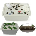 Indoor Hydroponics Grower Kit, Pathonor 11 Pod 3.5 gal