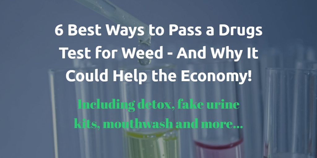 Test tubes image - 6 best ways to pass a drugs test for weed