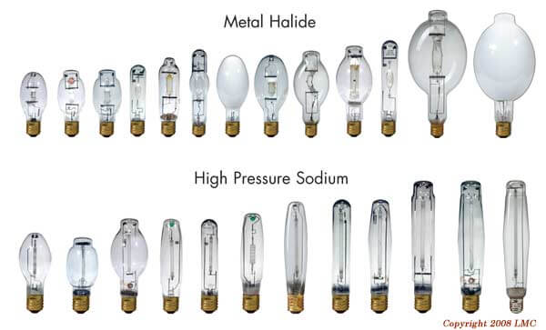 HID grow light bulbs