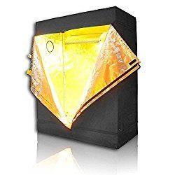 LAGarden Reflective Diamond Mylar Hydroponics Indoor Grow Tent