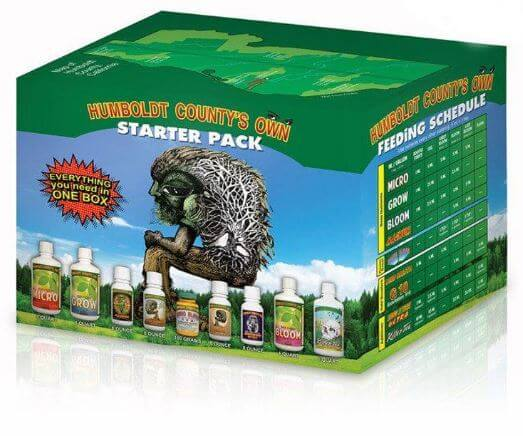 Humboldt Countys Own - Starter Kit - Nutrients Fertilizers